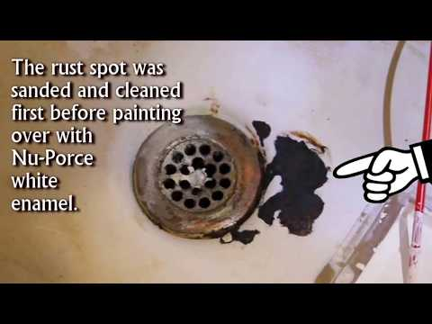 how to repair a cracked sink
