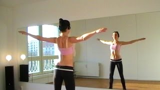 Bellydance CARDIO WARM-UP (pt1) Workout with Coco - YouTube