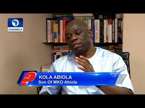 How Ex-President Jonathan Couldn't Honour My Father Despite All Attempts – Kola Abiola Pt.3