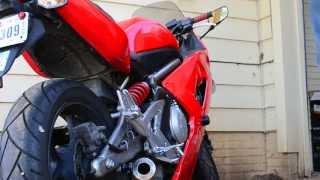8. 2007 Kawasaki Ninja 650r Danmoto Conical Exhaust