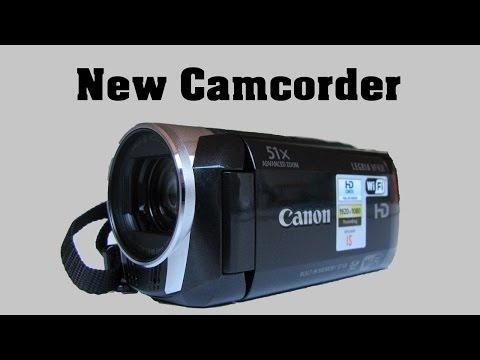 New Camcorder - Canon Legria HF R38