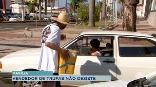 Após ter trufas roubadas jovem de Marília conta com ajuda para continuar vendas