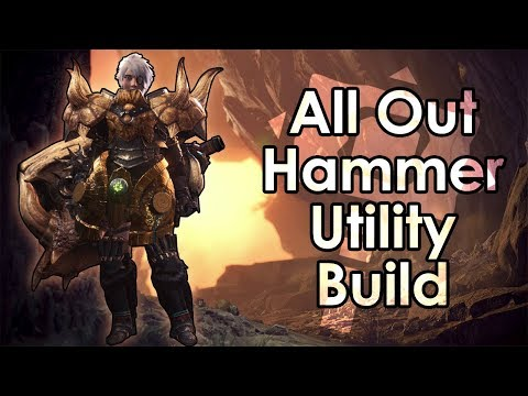Monster Hunter World: The All Out Hammer Utility Armor Build for High Rank