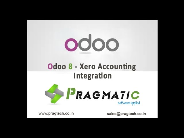 Odoo 8 Xero Accounting Integration