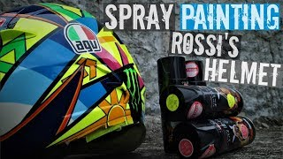 Nonton How to Paint Rossi's Helmet Soleluna 2016 With Spray Paint Film Subtitle Indonesia Streaming Movie Download