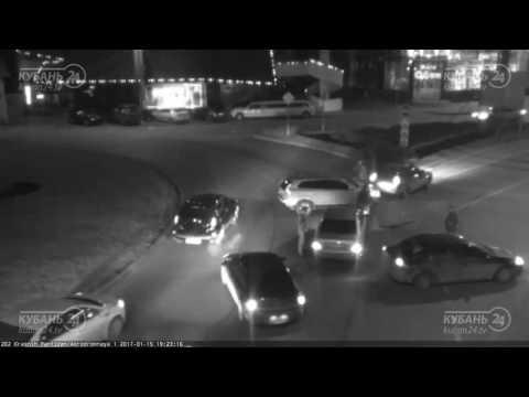 Ночная авария в Краснодаре