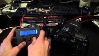 Arduino Timelapse Intervalometer/SLR Controller II - With Sensor Triggering