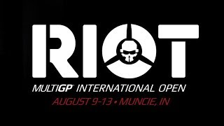 """Info and tickets HERE:http://www.multigp.ioWe are proud to announce that the 2017 MultiGP Riot International Open will be held at the AMA National Headquarters in Muncie, Indiana August 9-13, 2017. The MultiGP International Open will be a fun and educational time for all who will be in attendance, with """"Fun Flys"""" open to all, multiple competitions (both racing and freestyle), workshops, and summit meetings during the event. This is guaranteed to be FPV's largest Fun Fly Festival of the year!Visit our store HERE: http://store.rotorriot.com/Rotor Riot pilots who will be attending...Tommy Tibajia [UmmaGawd] https://www.youtube.com/user/ummagawdSteele Davis [Mr Steele] https://www.youtube.com/user/MrSteeledavisKevin Dougherty [StingersSwarm] https://www.youtube.com/user/stingersswarmDrew Camden [Le Drib]https://www.youtube.com/channel/UCHxiKnzTyzE9Qez8ZGpQbPQwww.rotorriot.com"""