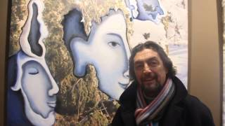 Art Interview, Costantin Ghircau Singer Opera Bastille,  2013 Paris, FRENCH