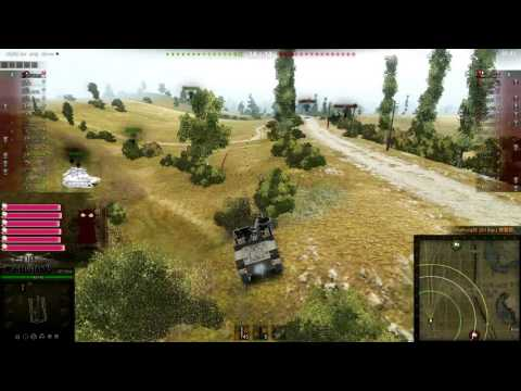 [PC][World of Tank] SPG Blind shot - decap and kill