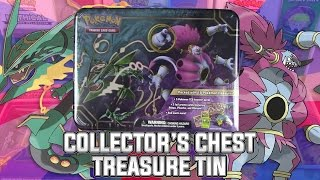 Pokémon Cards - Collector's Chest Treasure Tin Opening! by The Pokémon Evolutionaries