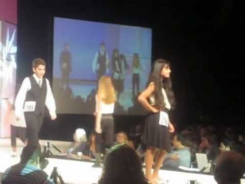 TheEvent Orlando - Jakob walks the runway at the black and white event, 2000 plus people in the audience along with directors/producers/talent scouts from Disney and Nickelodeon.