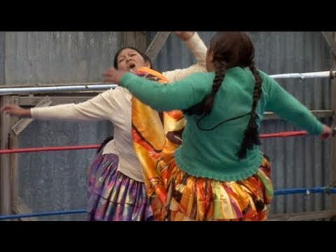 Collection - Cholitas: Bolivian Female Wrestlers
