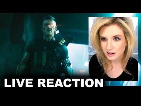 Deadpool Meet Cable Trailer REACTION (видео)