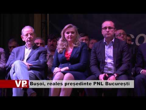 Cristian Bușoi, reales președinte PNL București