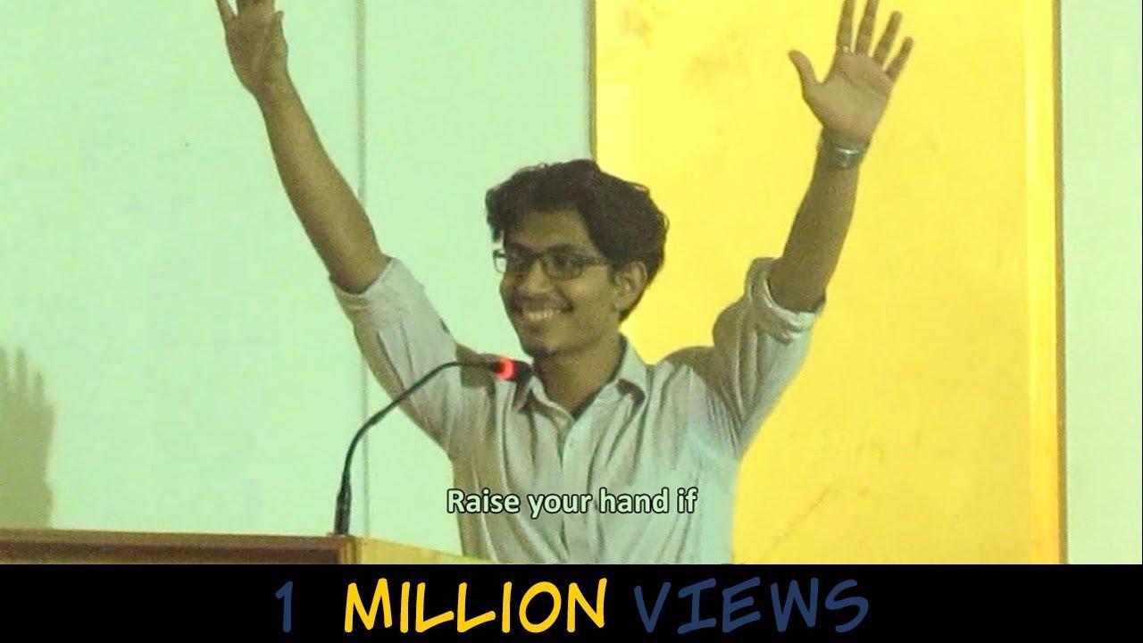 Funniest Engineering Graduation Speech   Indian guy