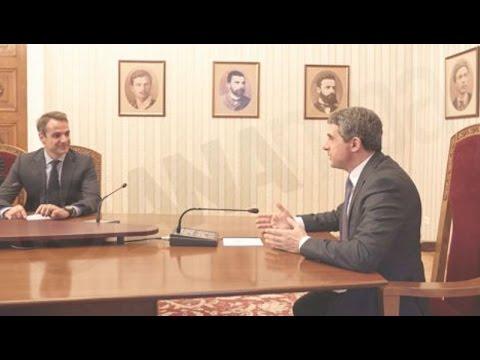 Eπίσκεψη του Κ. Μητσοτάκη στη Βουλγαρία