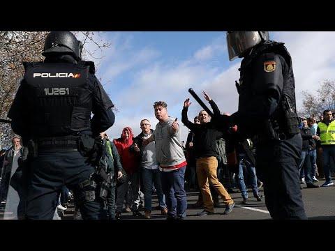 Μαδρίτη: Συνεχίζεται η απεργία των οδηγών ταξί