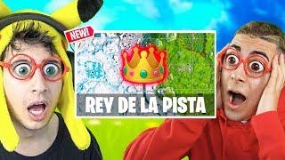 **REY DE LA PISTA** NUEVO MODO en Fortnite Battle Royale!! (Minijuego Personalizado)