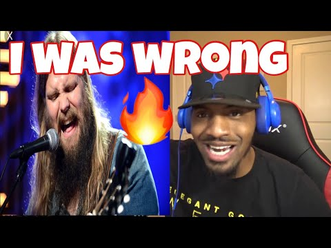 See Chris Just Showing Off Now!!! Chris Stapleton - I Was Wrong  | REACTION