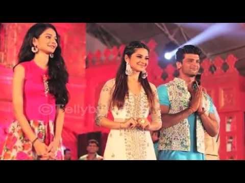 Aneri Vajani, Kushal Tandon and Jenifer Winget pro