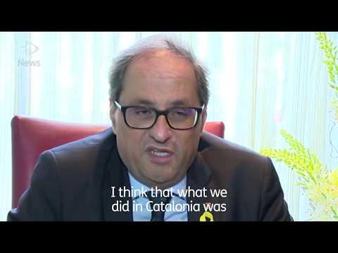 Catalonian President Visits Scotland