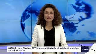 RTK3 Lajmet e orës 13:00 17.07.2019