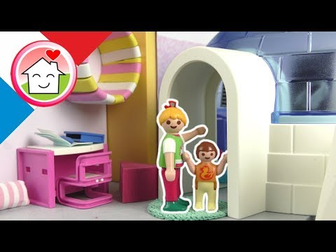Playmobil en francais La maison folle - Famille Hauser