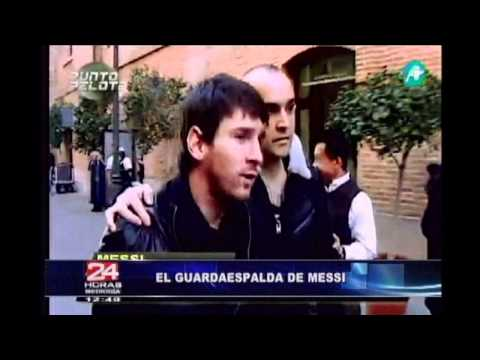 Guardaespaldas de Messi