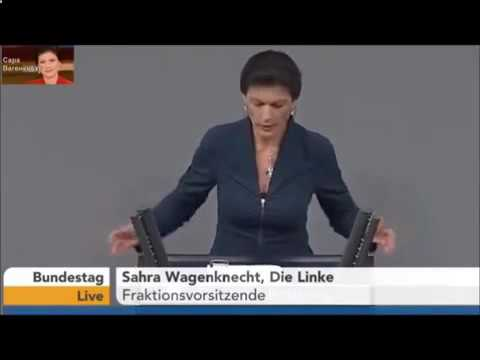 Сара Вагенкнехт о Владимире Путине