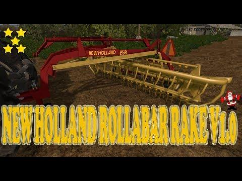 New Holland Rollabar Rake v1.0