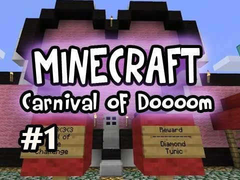 Minecraft: Carnival Of Doooom w/ Nova, Kootra &amp; SSoH Ep.1 Video