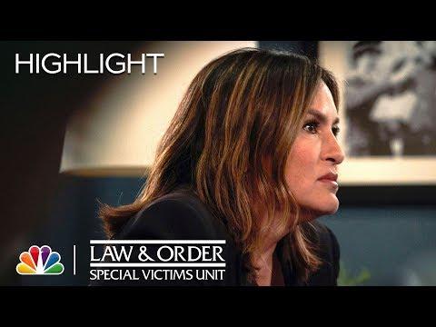 Tucker Tells Benson He's Dying - Law & Order: SVU
