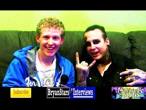 bryanstars - Check out my backstage interview with Motionless In White member Joshua Balz Watch my first interview with Motionless In White HERE: http://www.youtube.com/w...