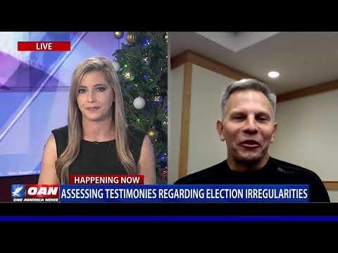 LCPR President Tony Shaffer Breaks Down Testimonies of Election Irregularities on OAN with Stephanie Myers