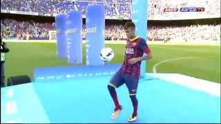 Neymar wird beim FC Barcelona vorgestellt