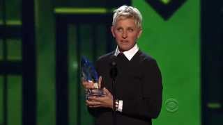 Ellen Degeneres - People Choice Award 2013