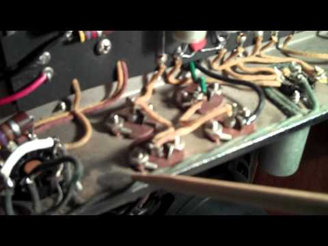 1959 Bassman - Correcting Heater Wire Lead Dress from Fender Factory