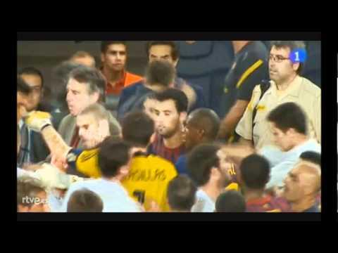Mourinho VS Tito Vilanova! (видео)