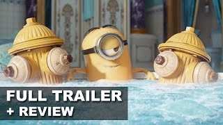 Nonton Minions 2015 Official Trailer 3 + Trailer Review : Beyond The Trailer Film Subtitle Indonesia Streaming Movie Download