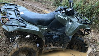 10. 2016 Suzuki KingQuad Review after 700 miles!