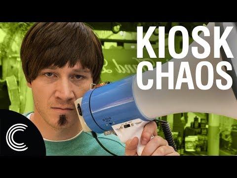Crazy Mall Kiosk Salesman 2: Leo's Pride (видео)