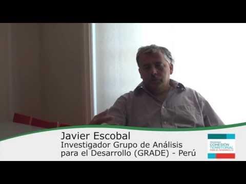 Javier Escobal – Cápsulas Cohesión Territorial para el Desarrollo