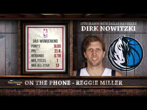 Reggie Miller Reacts to Dirk Nowitzki Joining the 30,000 Point Club 03/08/2017