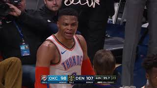 Russell Westbrook and Jamal Murray Get In Shoving Match by Bleacher Report