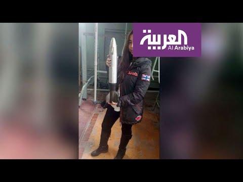 العرب اليوم - شاهد: فتاة مصرية تقتحم مجال الفضاء