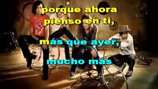 Mana Hasta Que te Conoci Karaoke