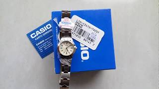 Review Casio LTP 1241D