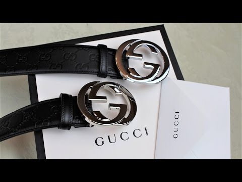Video TIPS ON SPOTTING A FAKE GUCCI BELT | Authentic vs Replica Gucci Belt Comparison download in MP3, 3GP, MP4, WEBM, AVI, FLV January 2017