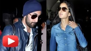 Ranbir Kapoor Katrina Kaif Spain And Dubai Holiday - Twitter Buzz !